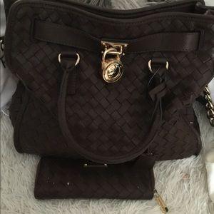 mk purse used